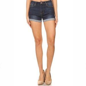 STS Blue High Waist Denim Shorts